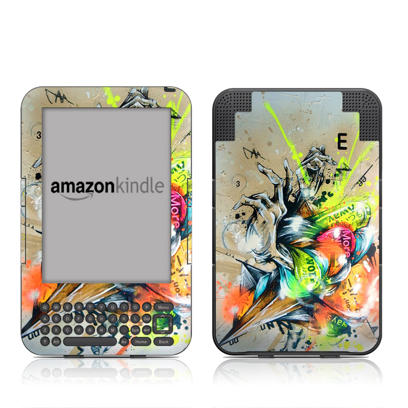 Dance Amazon Kindle 3 Skin