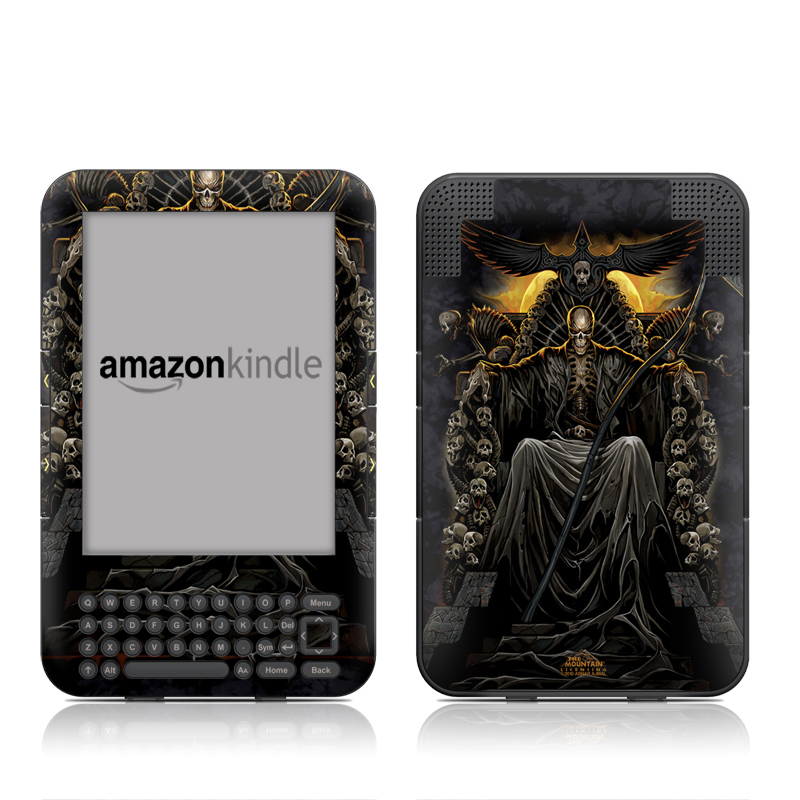 Death Throne Amazon Kindle Keyboard Skin