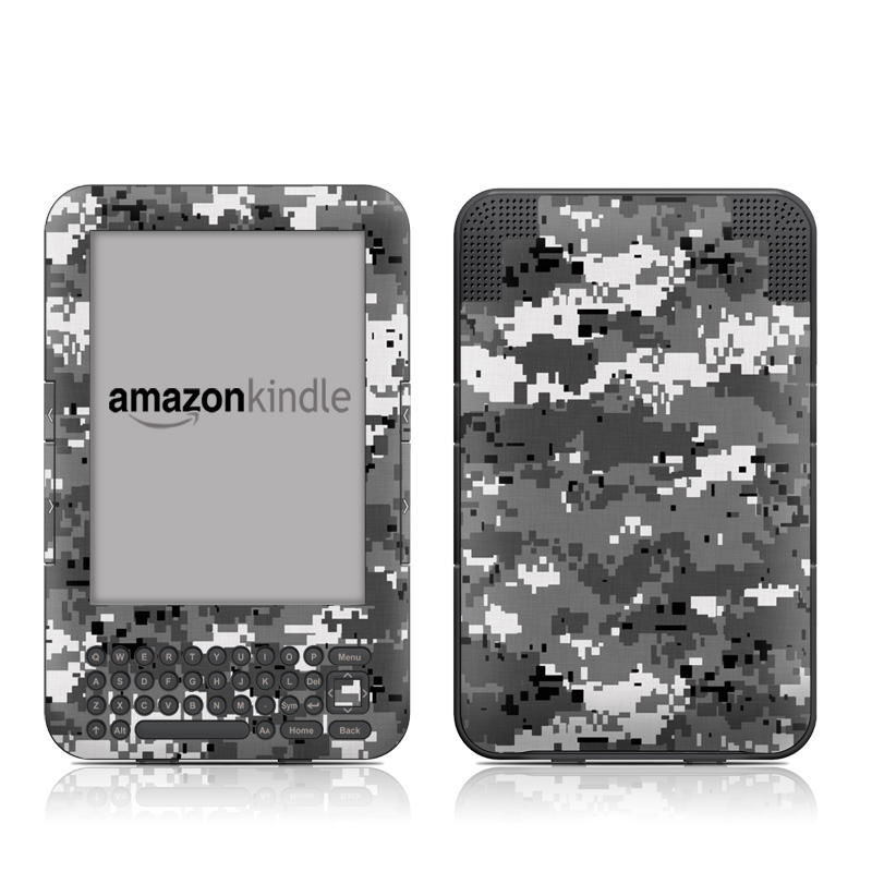 Digital Urban Camo Amazon Kindle 3 Skin