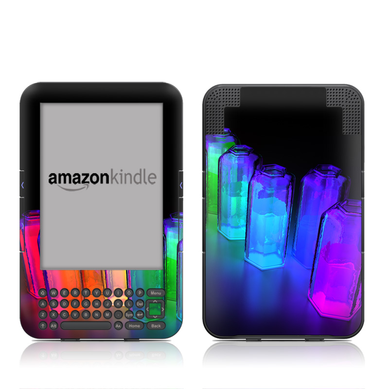 Dispersion Amazon Kindle 3 Skin