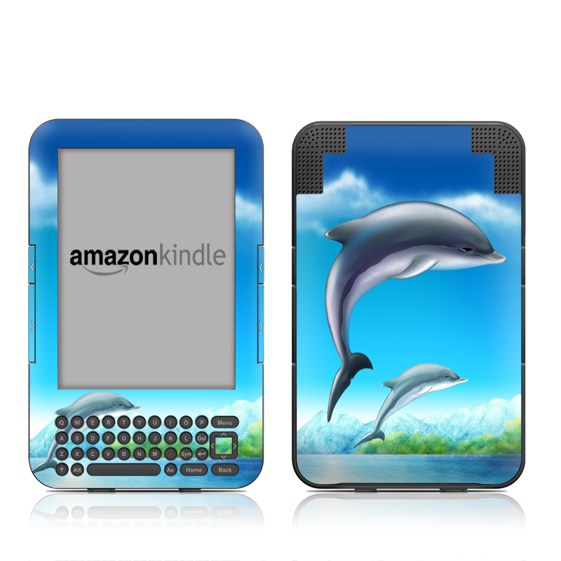 Dolphins Amazon Kindle 3 Skin