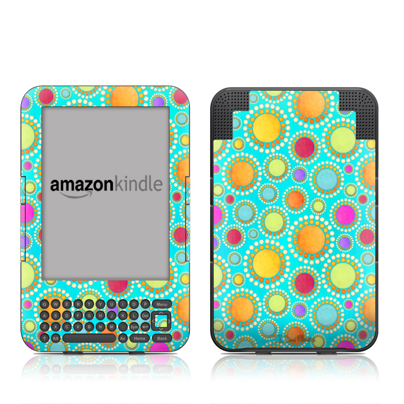 Dot To Dot Amazon Kindle 3 Skin