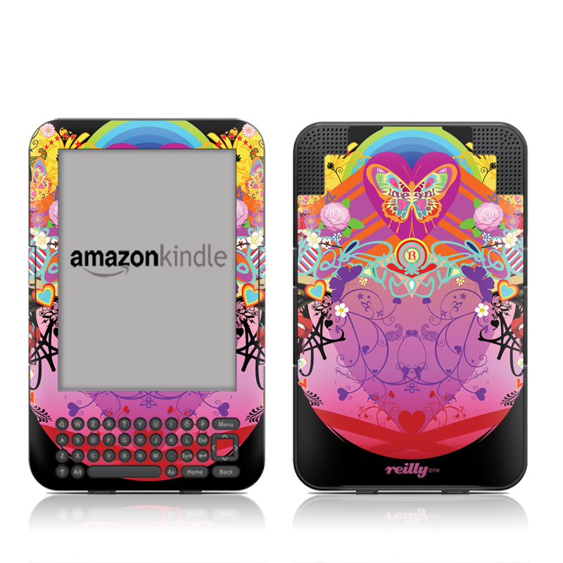 Ecstacy Amazon Kindle 3 Skin
