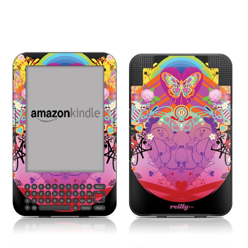 Ecstacy Amazon Kindle 3 Skin