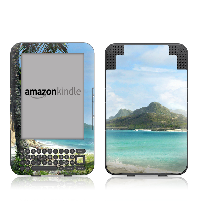 El Paradiso Amazon Kindle Keyboard Skin