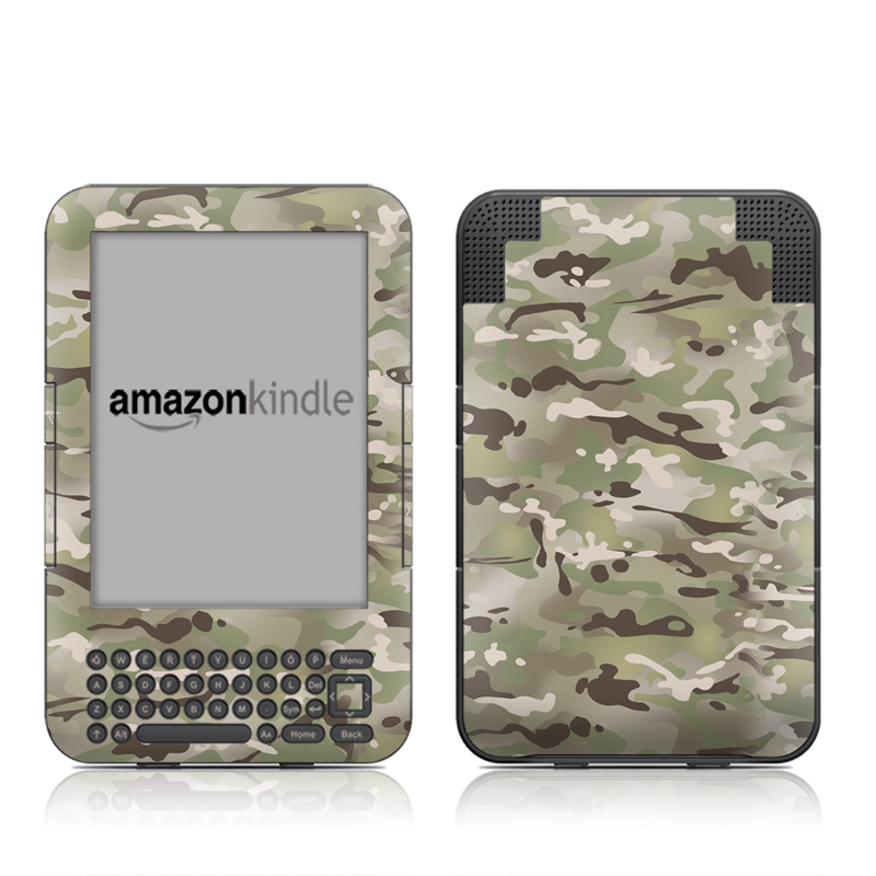 FC Camo Amazon Kindle Keyboard Skin