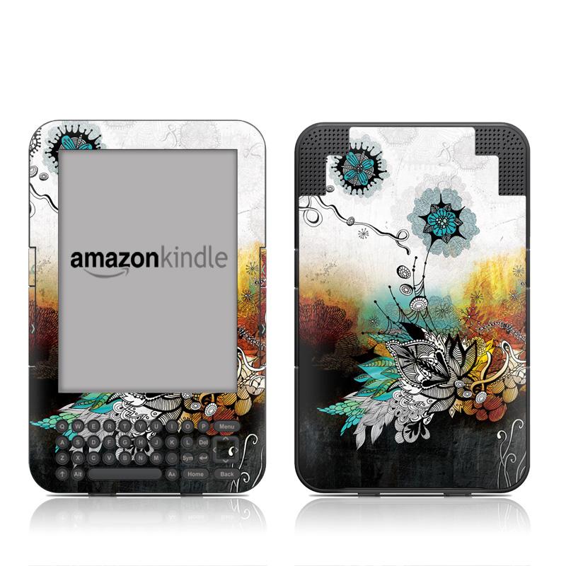 Frozen Dreams Amazon Kindle Keyboard Skin