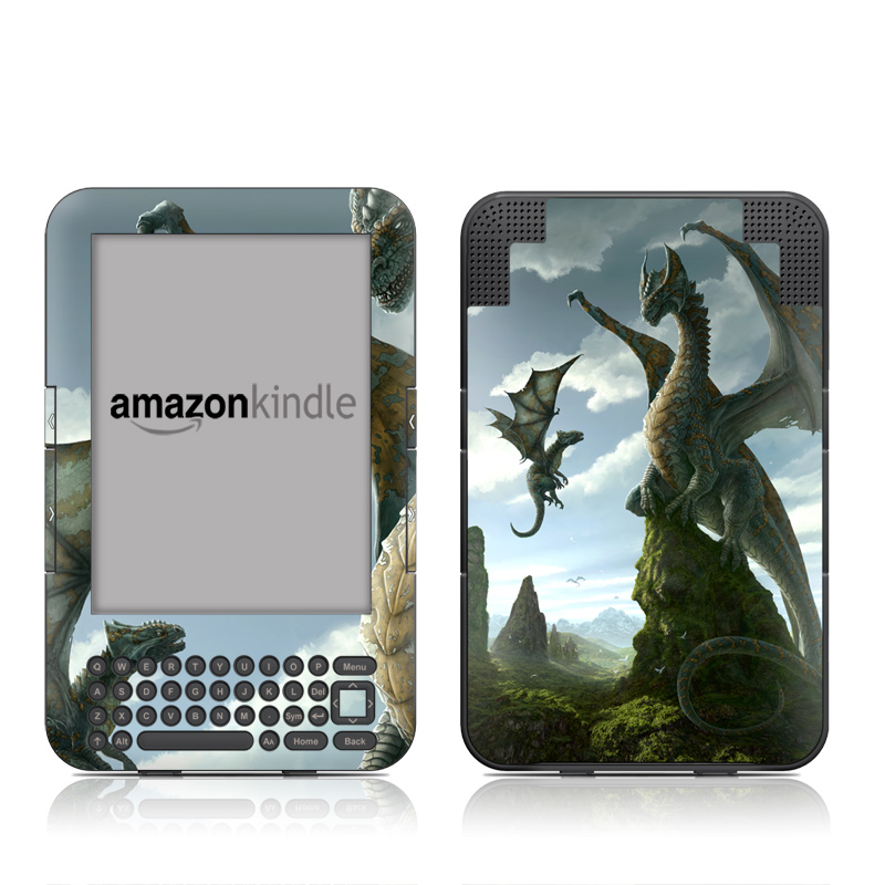 First Lesson Amazon Kindle 3 Skin