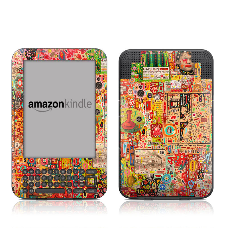 Flotsam And Jetsam Amazon Kindle 3 Skin