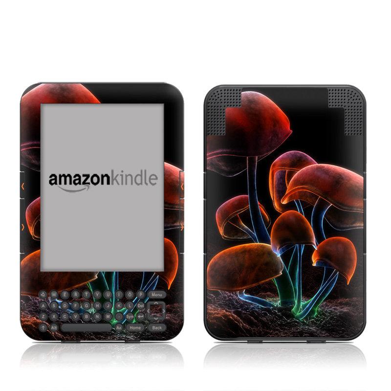 Fluorescence Rainbow Amazon Kindle 3 Skin