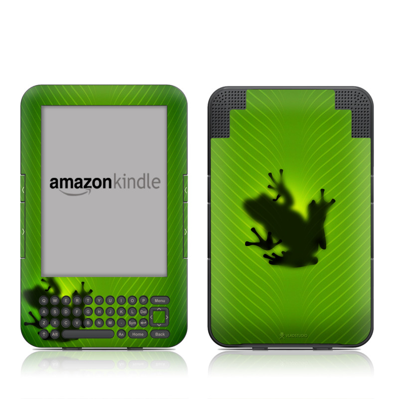 Frog Amazon Kindle Keyboard Skin