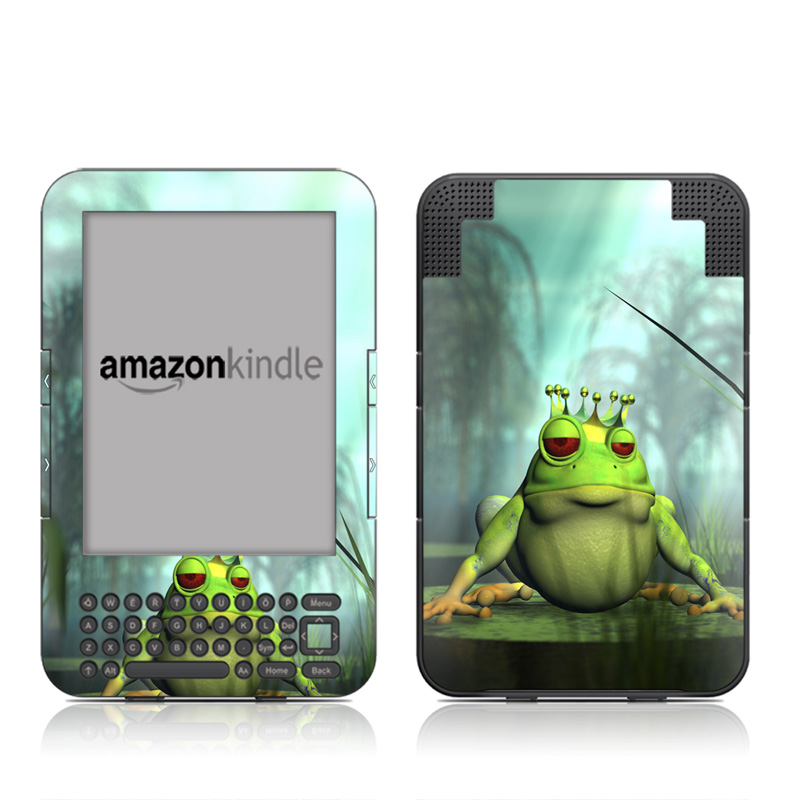 Frog Prince Amazon Kindle 3 Skin