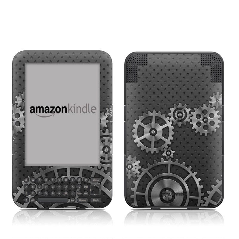 Gear Wheel Amazon Kindle Keyboard Skin