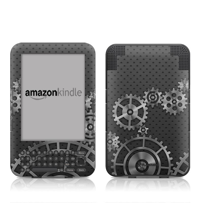 Gear Wheel Amazon Kindle 3 Skin