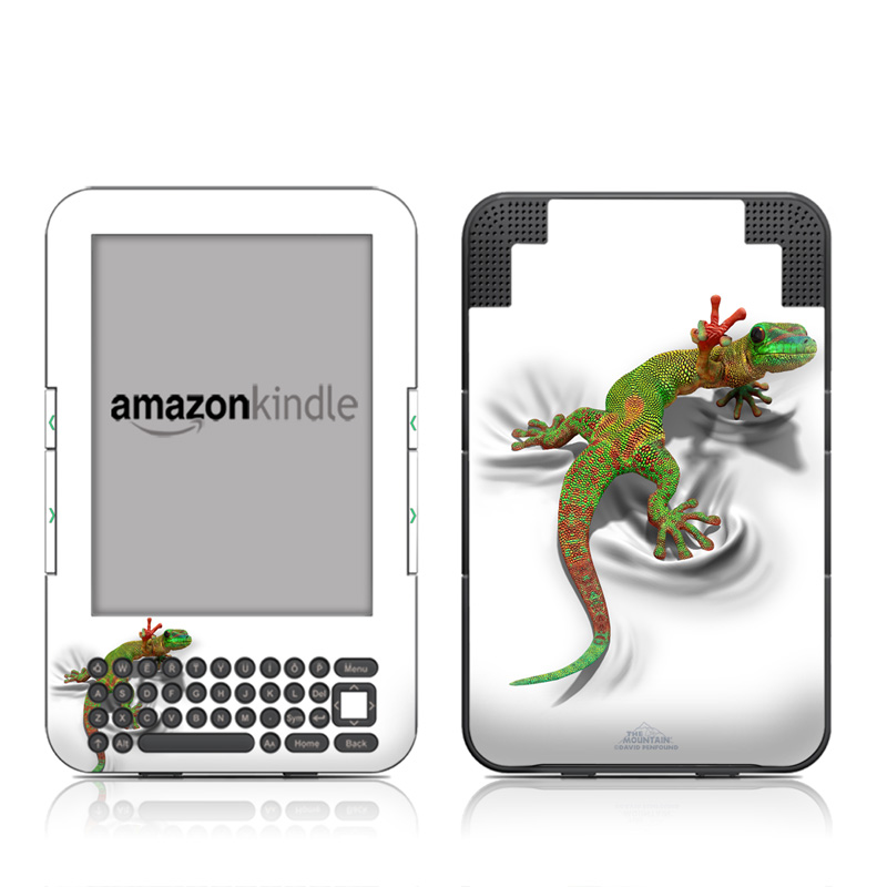 Gecko Amazon Kindle 3 Skin
