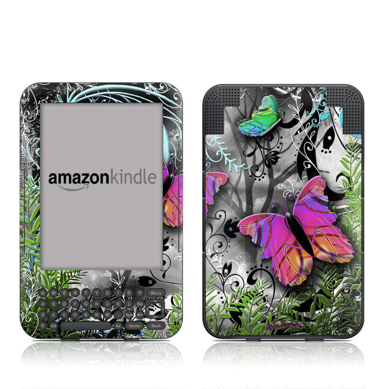 Goth Forest Amazon Kindle Keyboard Skin