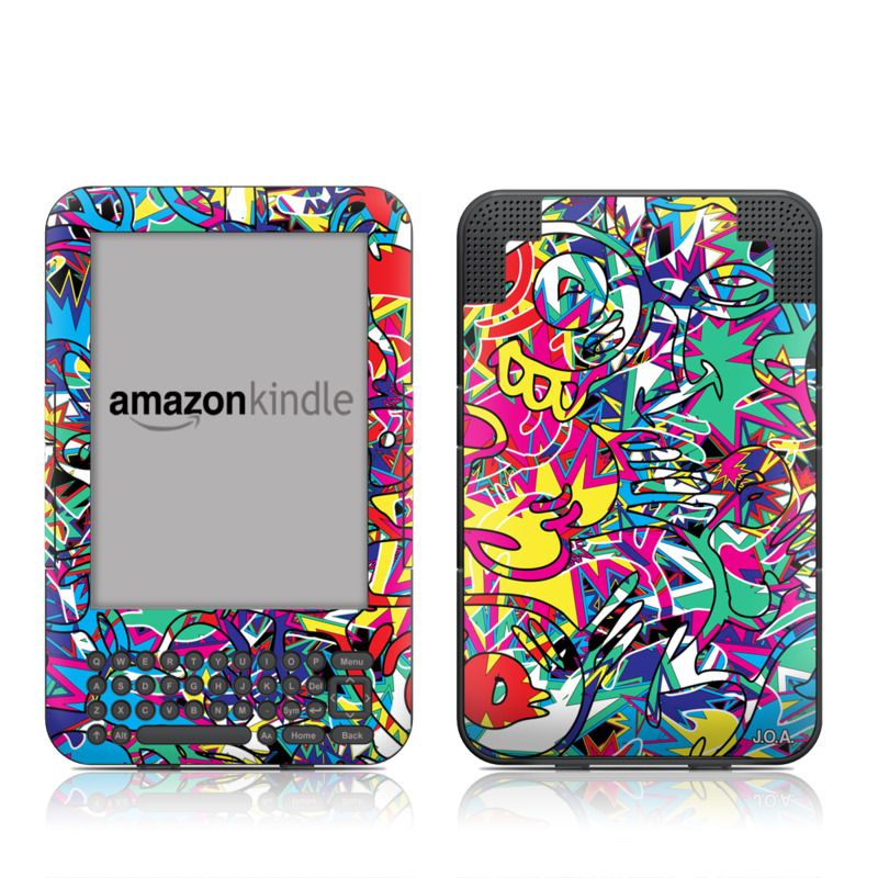 Graf Amazon Kindle Keyboard Skin