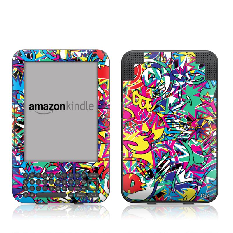 Graf Amazon Kindle Keyboard Skin