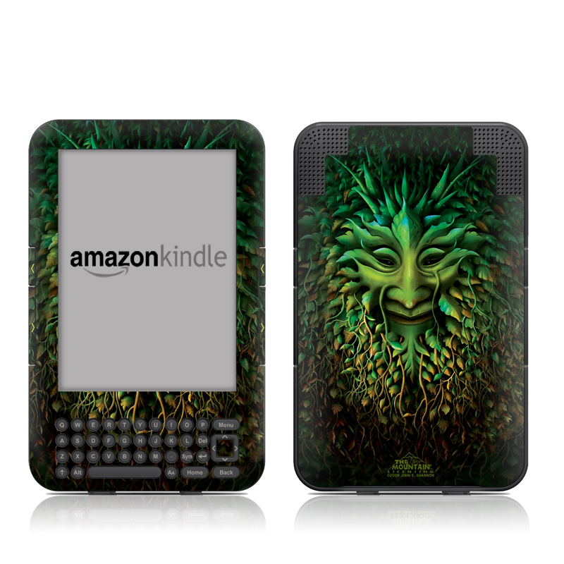 Greenman Amazon Kindle 3 Skin