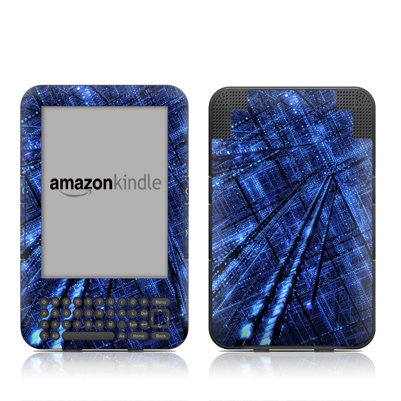 Grid Amazon Kindle Keyboard Skin