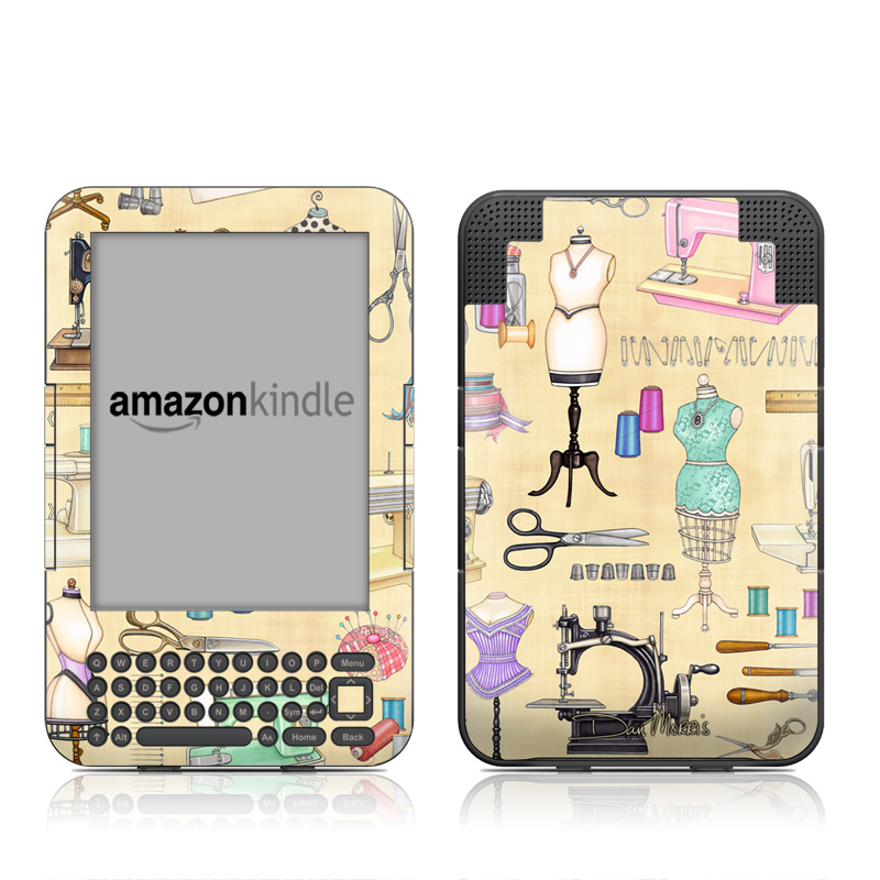 Haberdashery Amazon Kindle 3 Skin