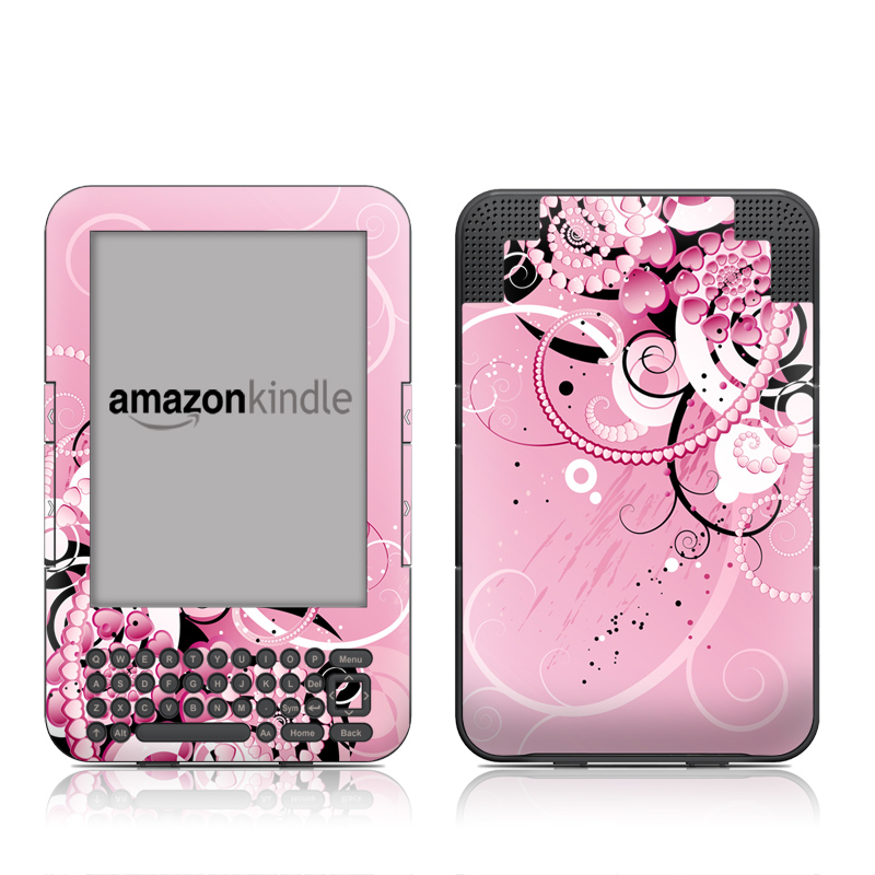 Her Abstraction Amazon Kindle Keyboard Skin