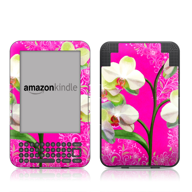 Hot Pink Pop Amazon Kindle 3 Skin