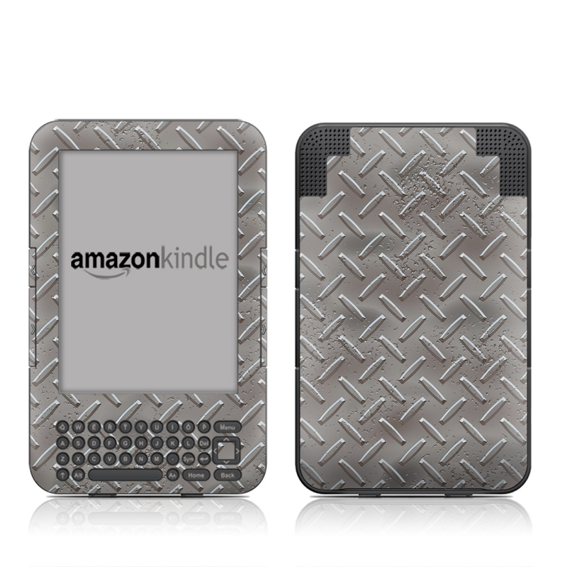 Industrial Amazon Kindle 3 Skin