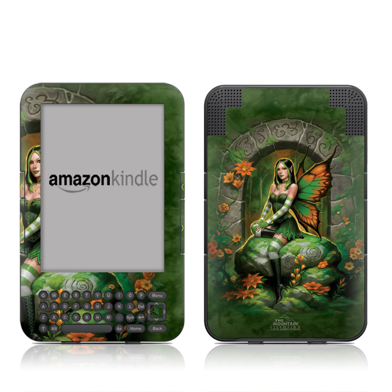 Jade Fairy Amazon Kindle Keyboard Skin