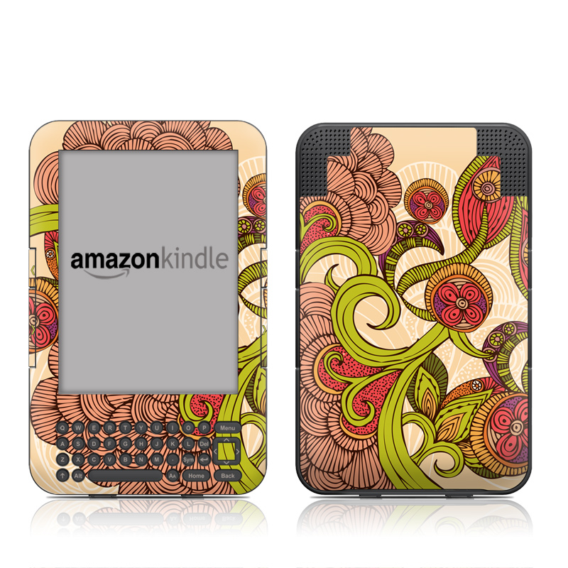 Jill Amazon Kindle Keyboard Skin