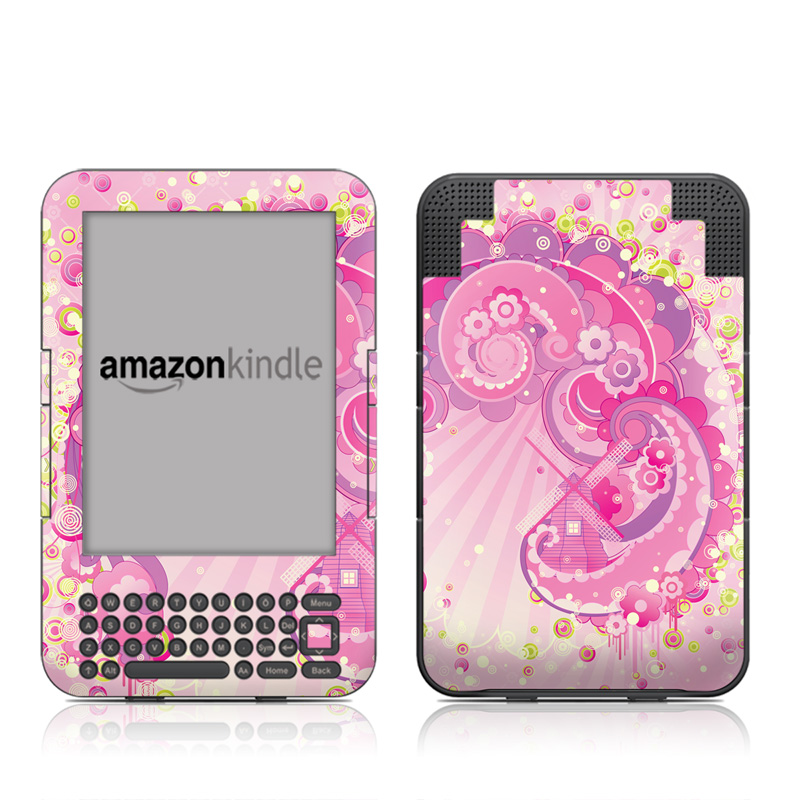 Jolie Amazon Kindle 3 Skin
