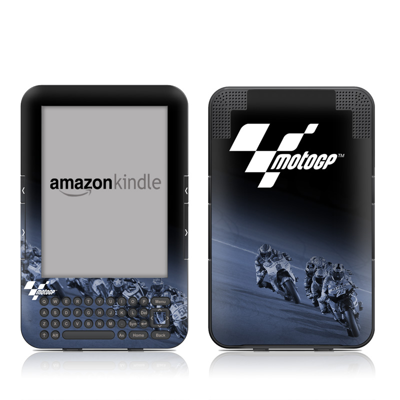 Leaning Amazon Kindle 3 Skin