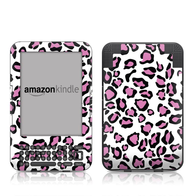 Leopard Love Amazon Kindle Keyboard Skin