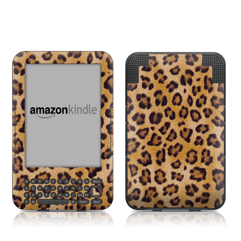 Leopard Spots Amazon Kindle Keyboard Skin