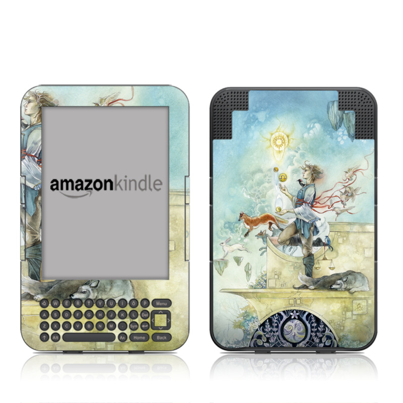 Libra Amazon Kindle Keyboard Skin