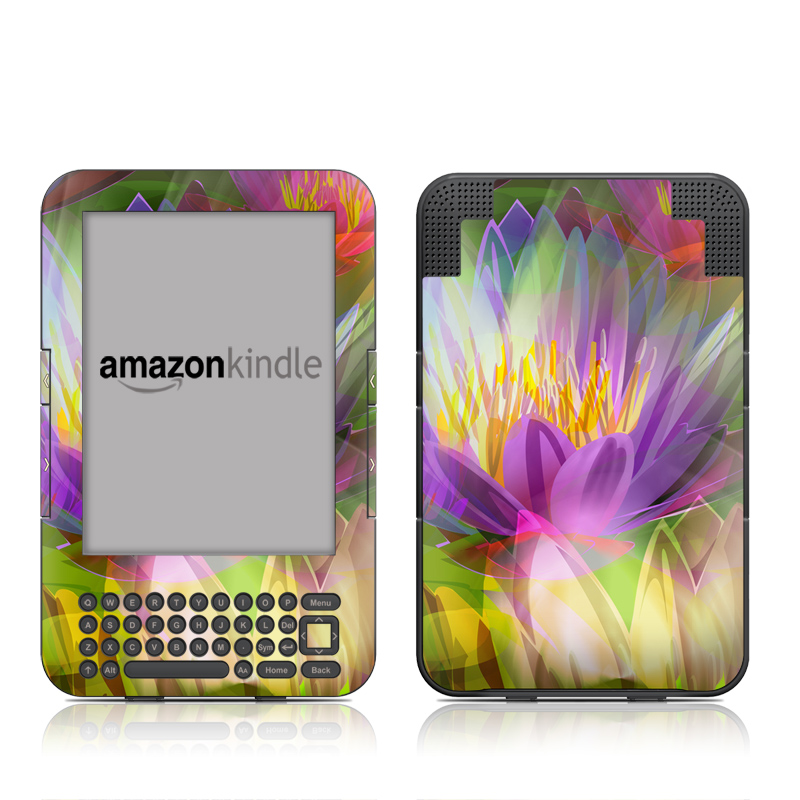 Lily Amazon Kindle 3 Skin