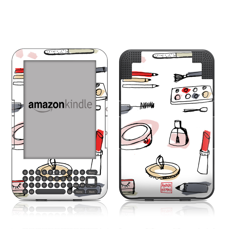Makeup Amazon Kindle 3 Skin