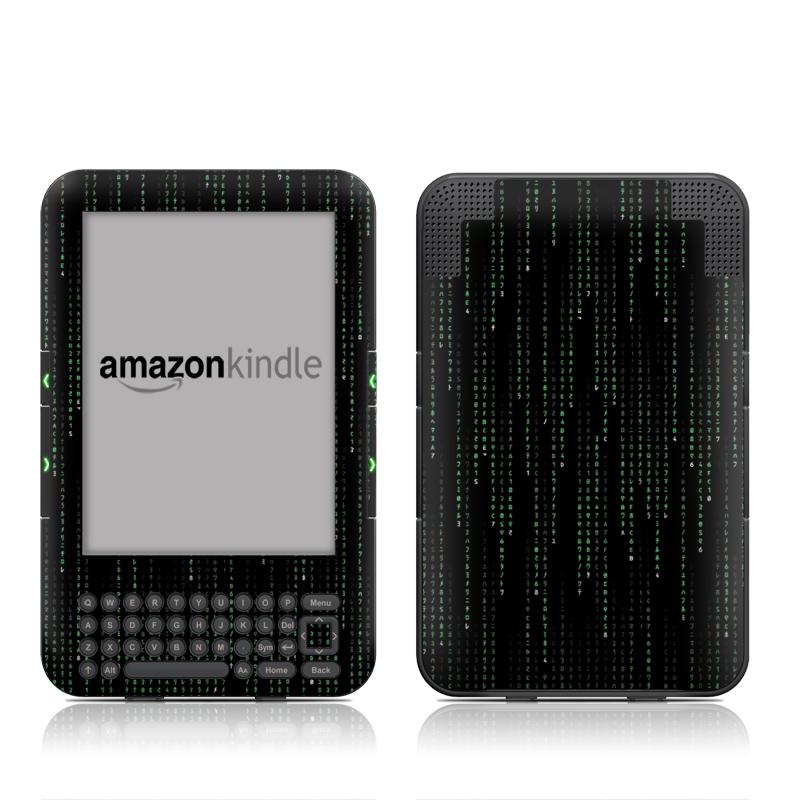 Matrix Style Code Amazon Kindle 3 Skin