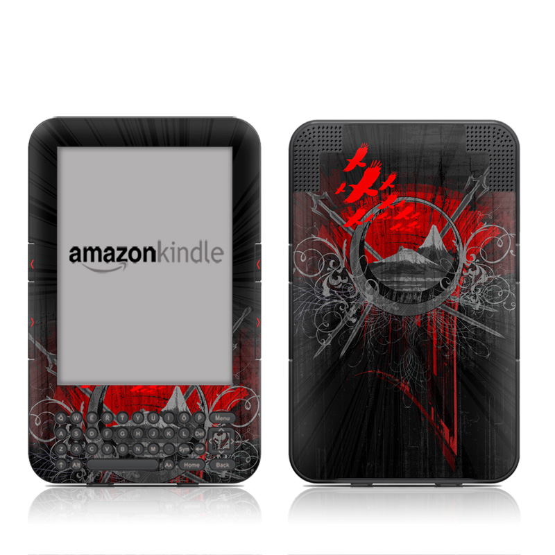 Mount Doom Amazon Kindle Keyboard Skin