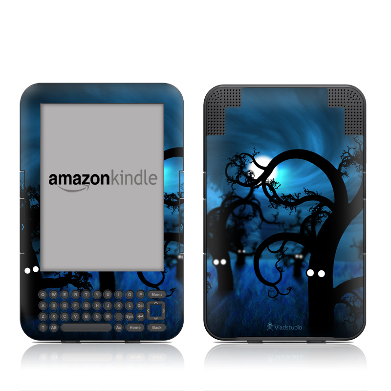 Midnight Forest Amazon Kindle Keyboard Skin