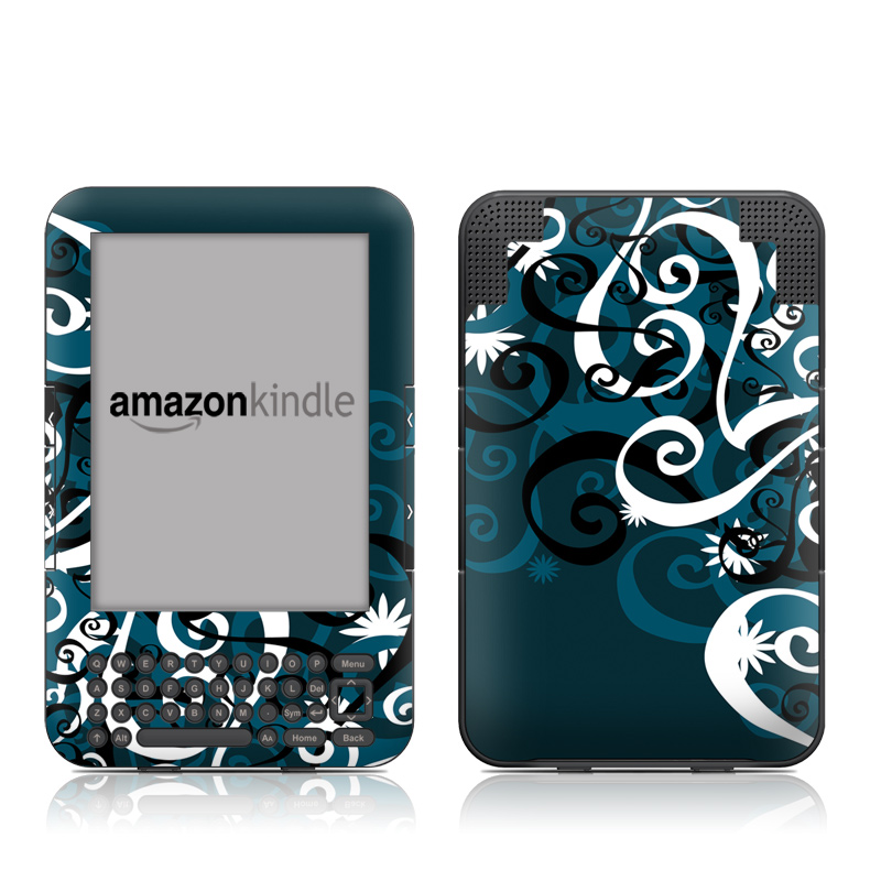 Midnight Garden Amazon Kindle 3 Skin