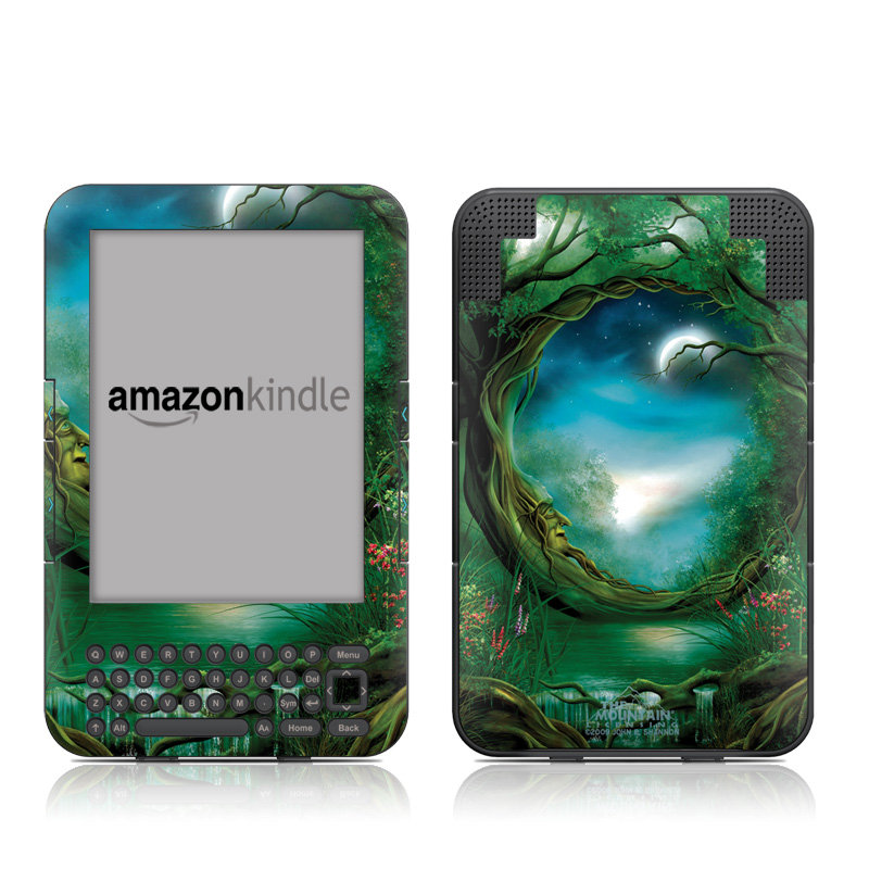 Moon Tree Amazon Kindle Keyboard Skin