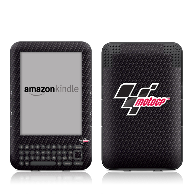 MotoGP Carbon Fiber Logo Amazon Kindle Keyboard Skin