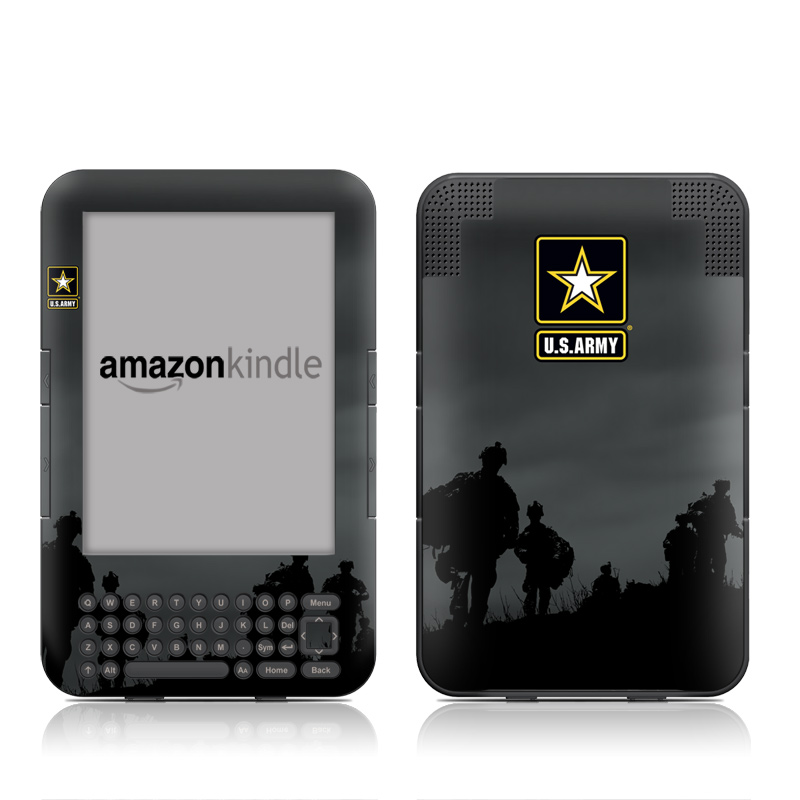 Night Action Amazon Kindle Keyboard Skin