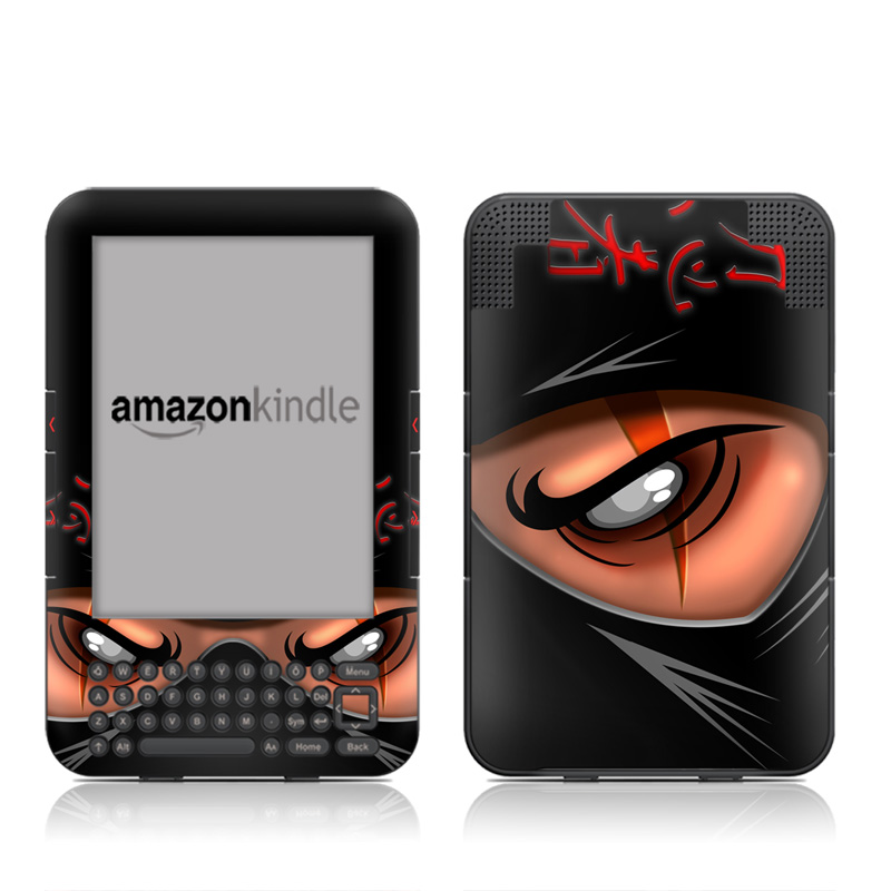 Ninja Amazon Kindle Keyboard Skin