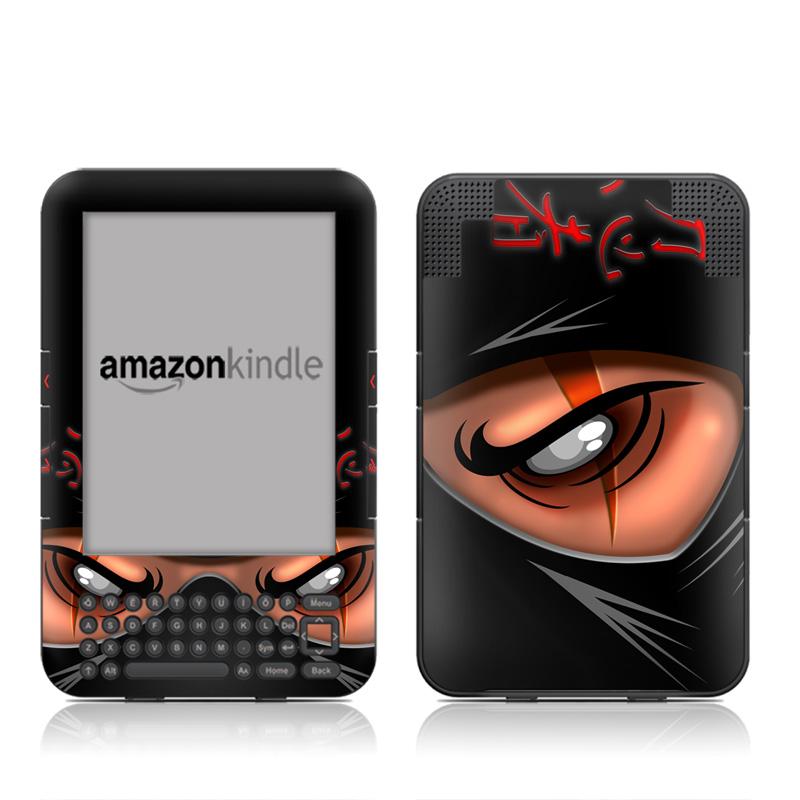 Ninja Amazon Kindle Keyboard Skin