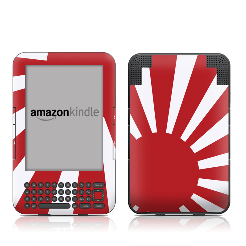 Nisshoki Amazon Kindle 3 Skin