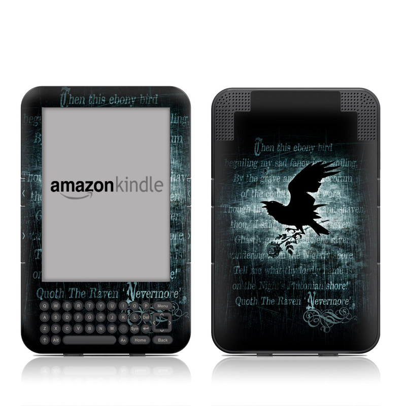 Nevermore Amazon Kindle Keyboard Skin