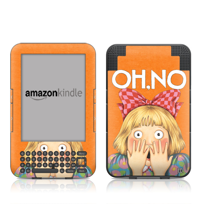 Oh No Amazon Kindle Keyboard Skin