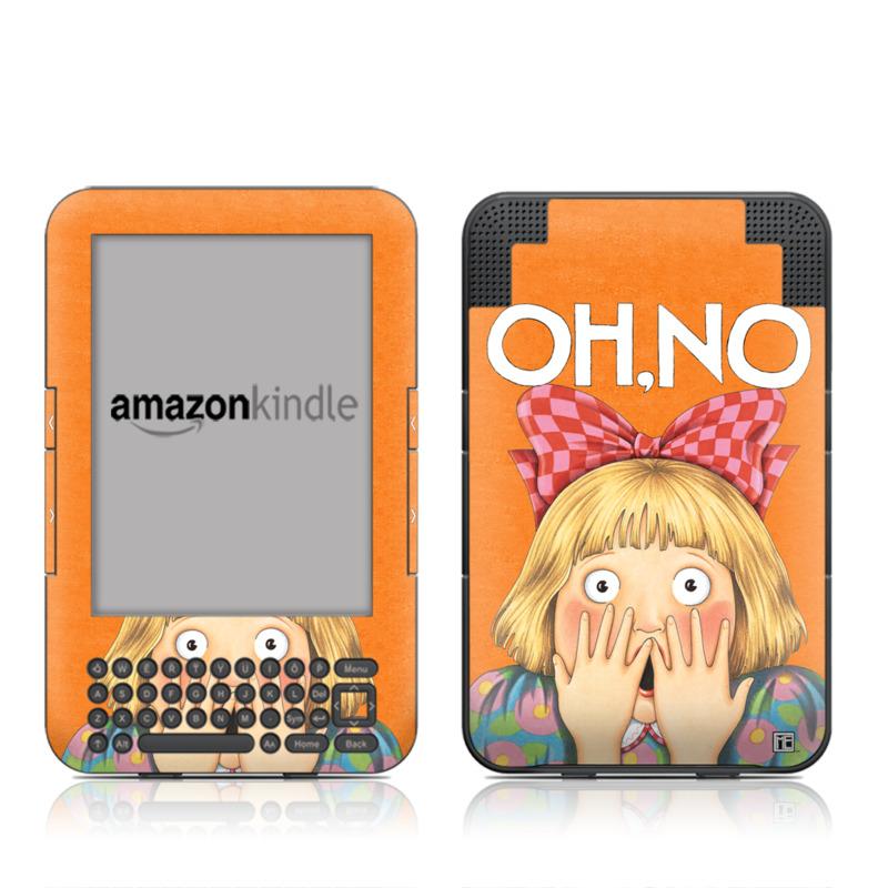 Oh No Amazon Kindle Keyboard Skin